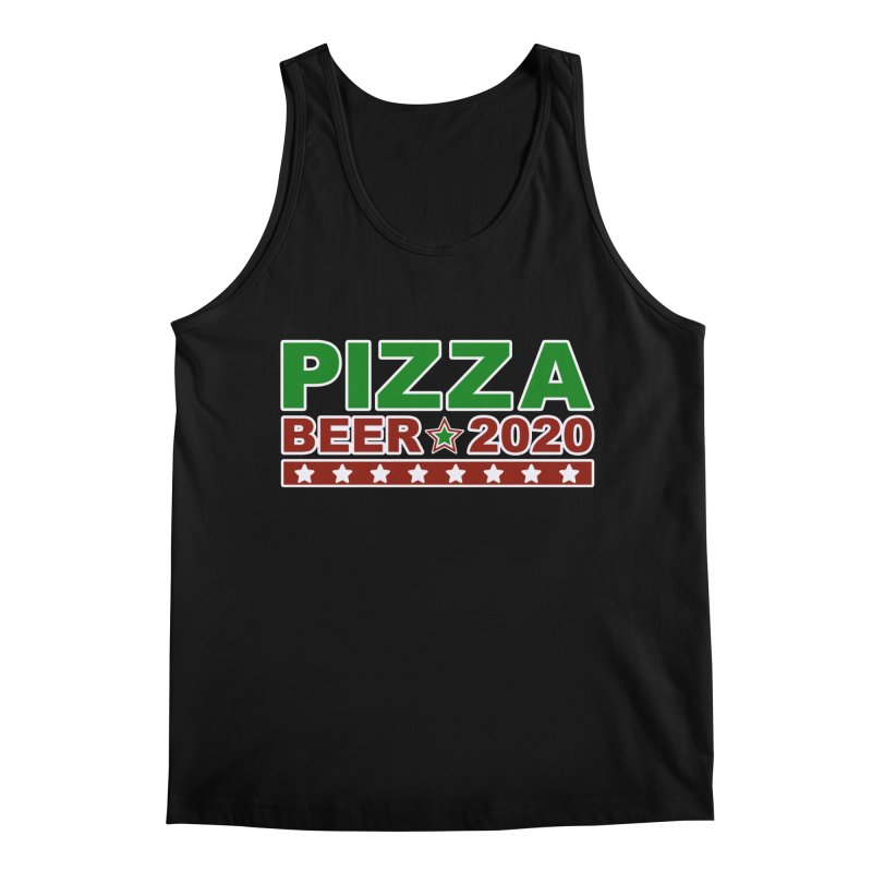 Pizza Beer 2020 Men's Regular Tank by Toxic Onion