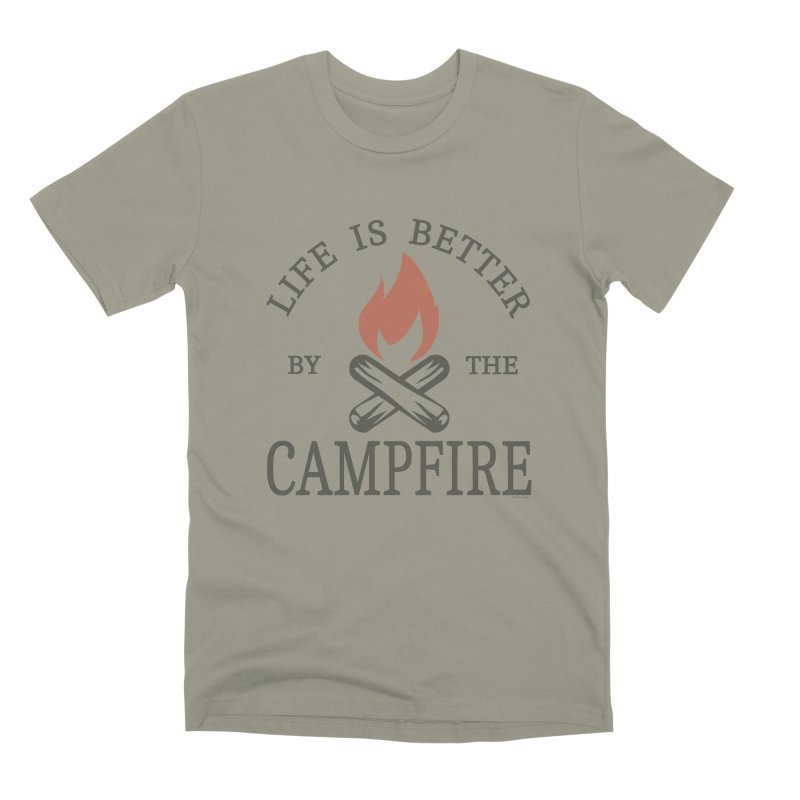 Life Is Better By The Campfore Men's Premium T-Shirt by Toxic Onion