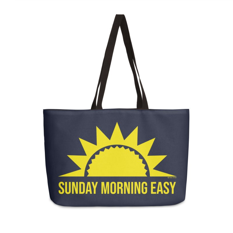 Sunday Morning Easy Accessories Weekender Bag Bag by Toxic Onion