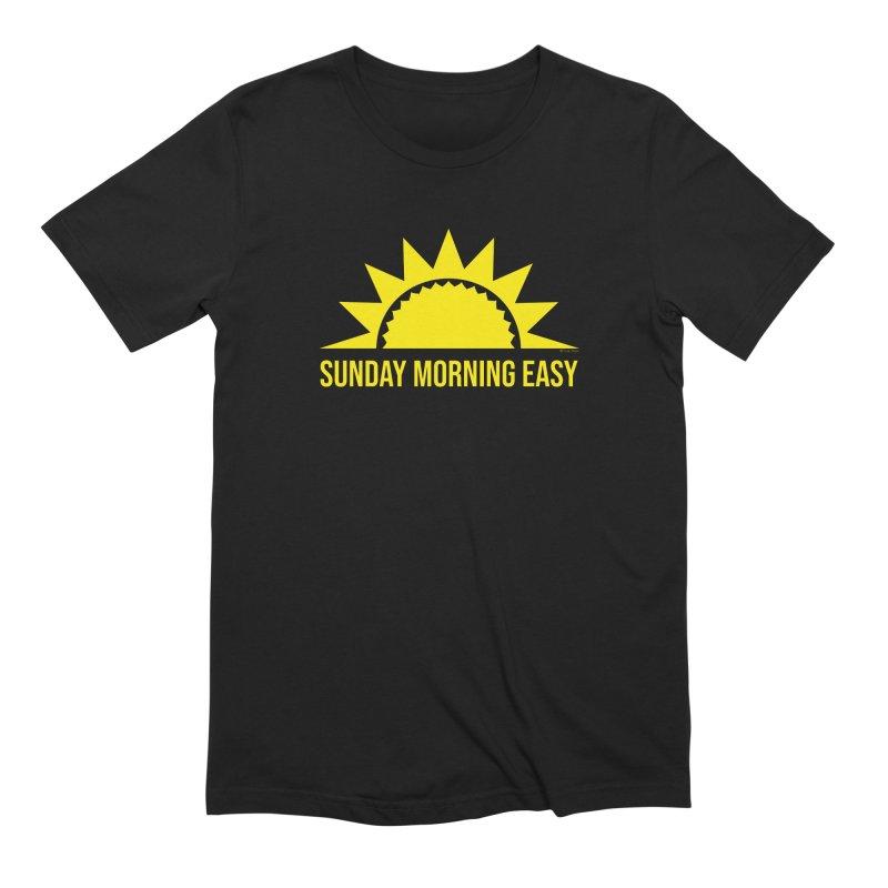 Sunday Morning Easy Men's T-Shirt by Toxic Onion