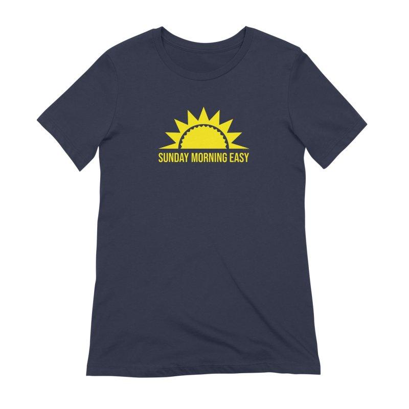Sunday Morning Easy Women's Extra Soft T-Shirt by Toxic Onion