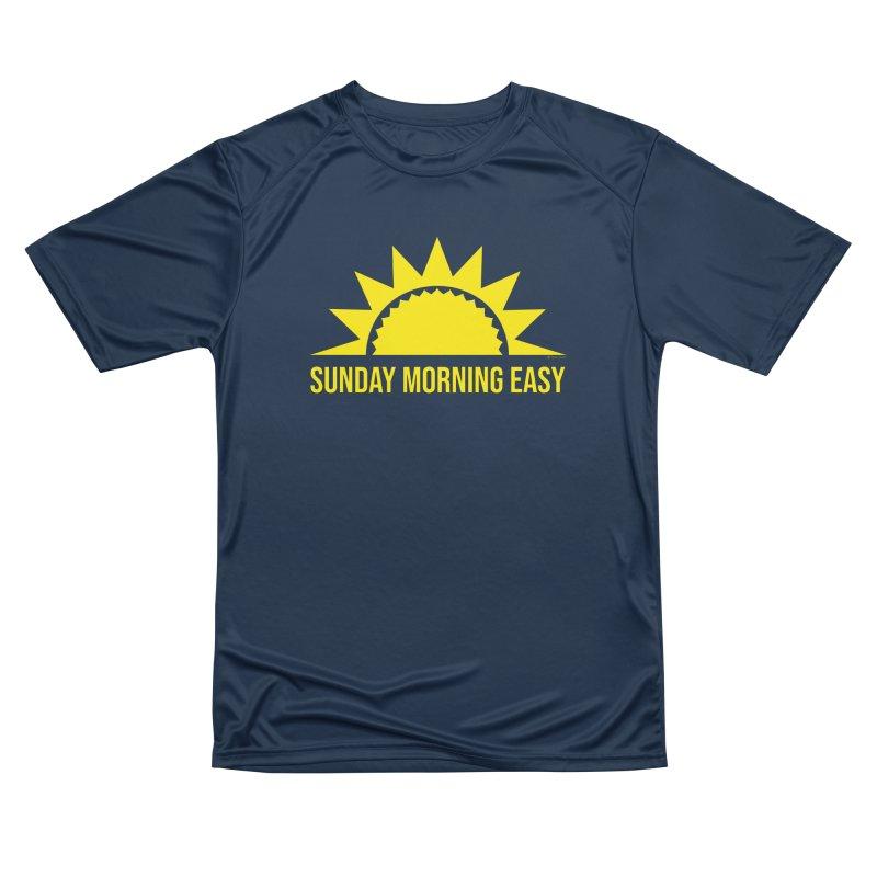 Sunday Morning Easy Women's Performance Unisex T-Shirt by Toxic Onion