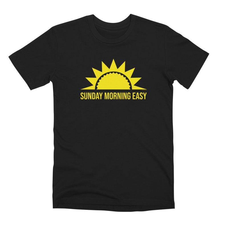 Sunday Morning Easy Men's Premium T-Shirt by Toxic Onion