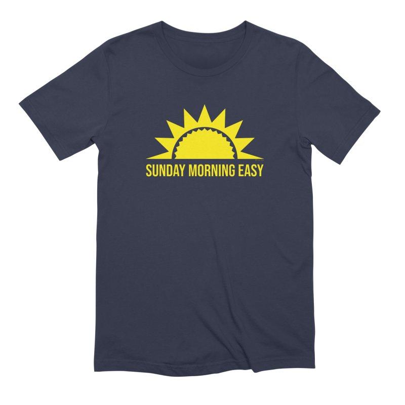 Sunday Morning Easy Men's Extra Soft T-Shirt by Toxic Onion