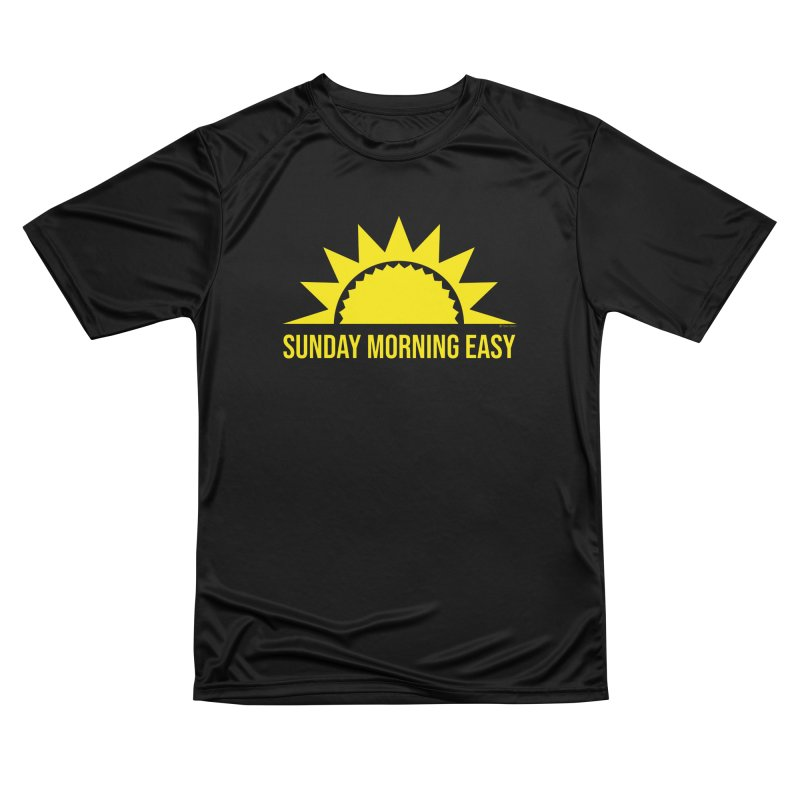 Sunday Morning Easy Women's Performance Unisex T-Shirt by Toxic Onion