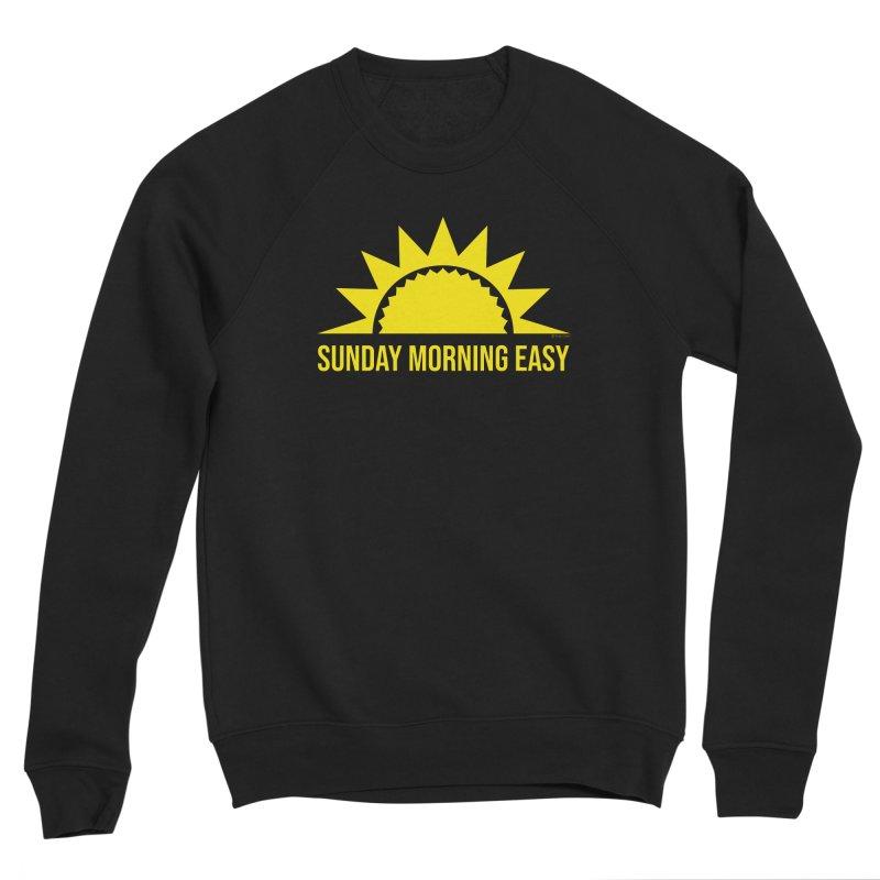 Sunday Morning Easy Men's Sponge Fleece Sweatshirt by Toxic Onion