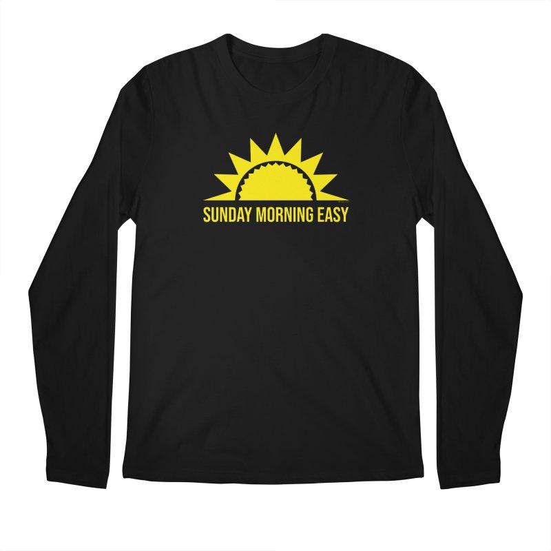 Sunday Morning Easy Men's Regular Longsleeve T-Shirt by Toxic Onion