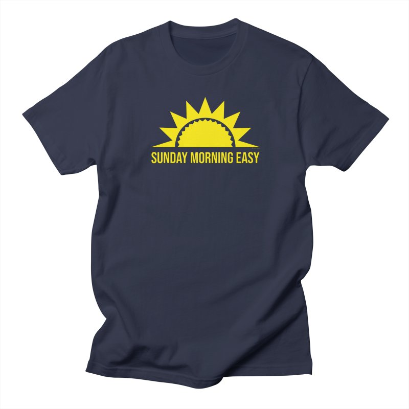 Sunday Morning Easy Men's Regular T-Shirt by Toxic Onion