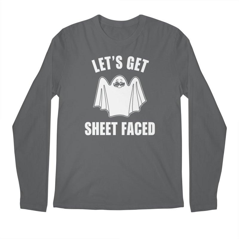 Let's Get Sheet Faced Men's Regular Longsleeve T-Shirt by Toxic Onion