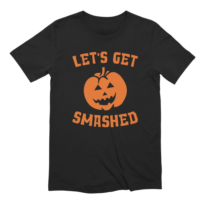 Let's Get Smashed Men's Extra Soft T-Shirt by Toxic Onion