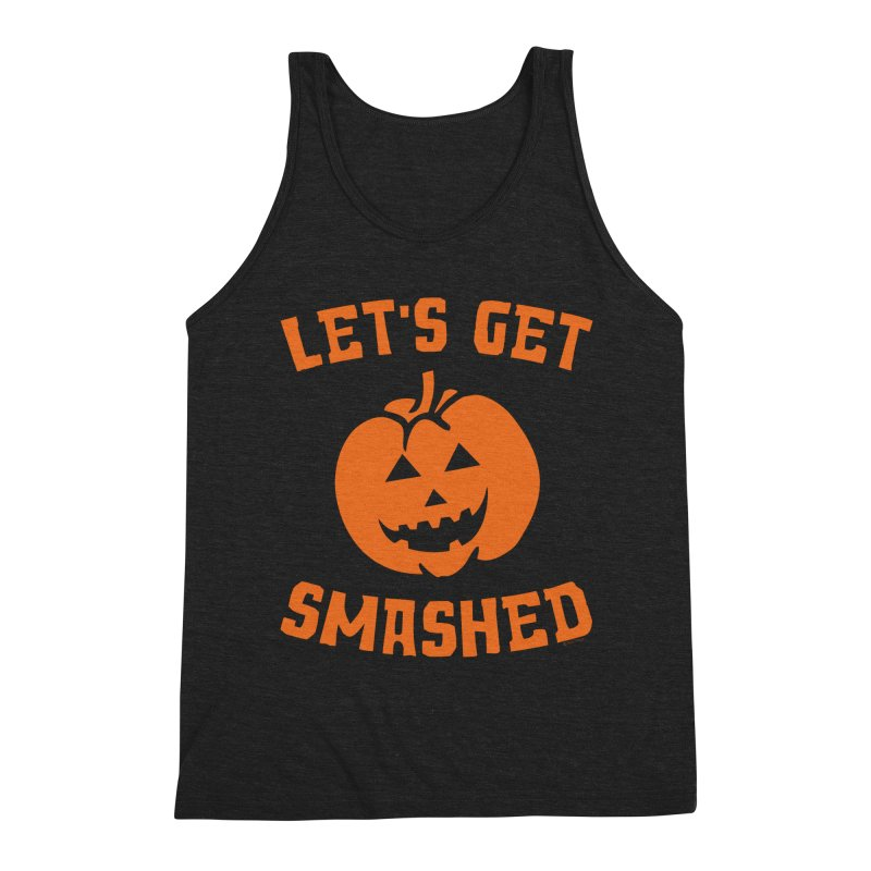 Let's Get Smashed Men's Triblend Tank by Toxic Onion