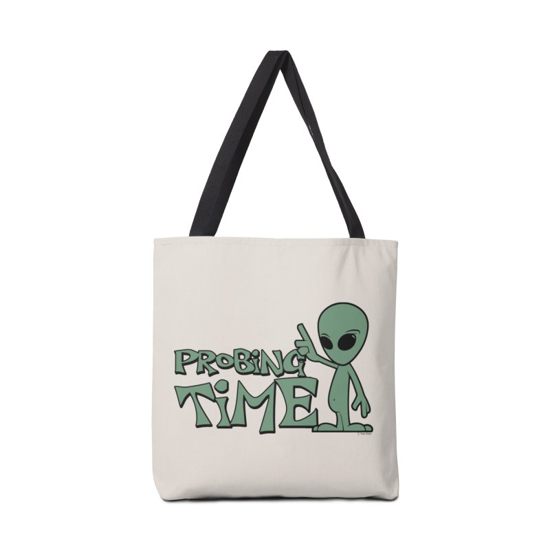 Probing Time Accessories Tote Bag Bag by Toxic Onion