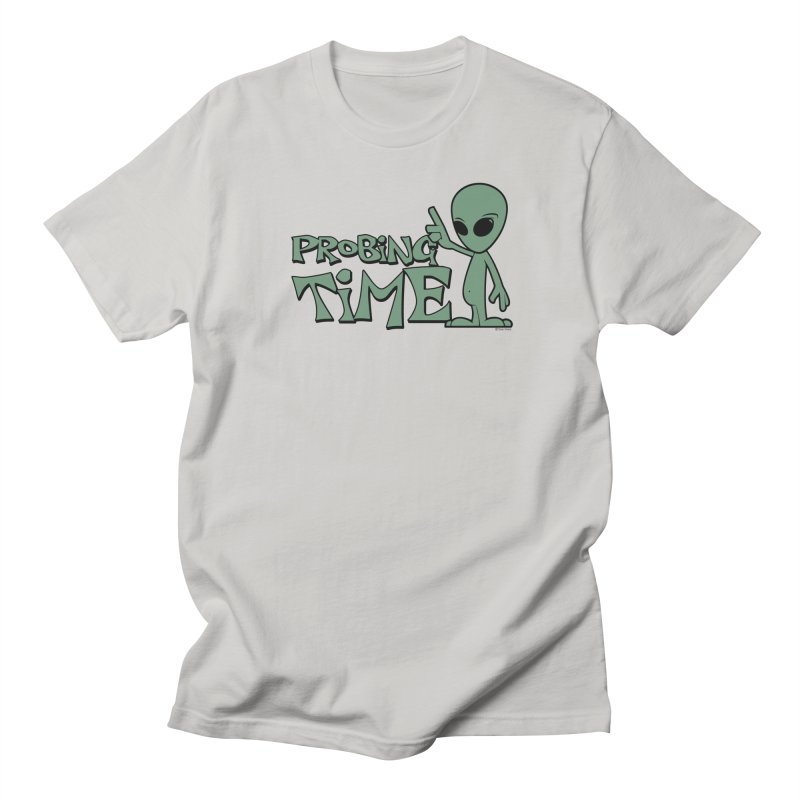 Probing Time Men's Regular T-Shirt by Toxic Onion
