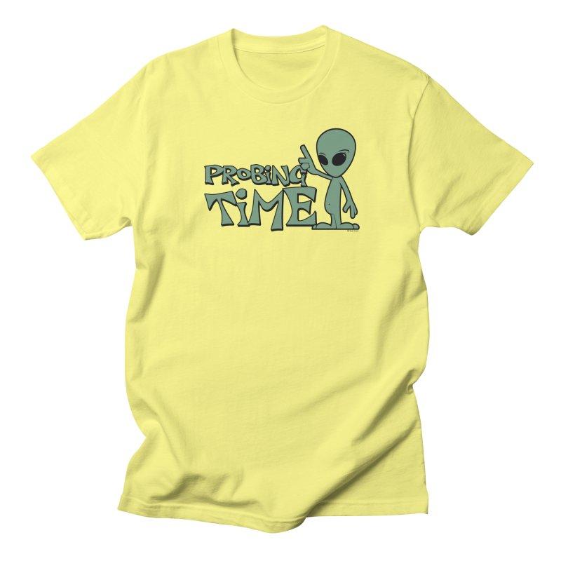 Probing Time Men's Regular T-Shirt by Toxic Onion