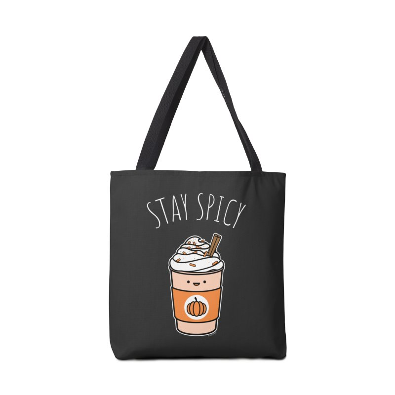 Stay Spicy Accessories Tote Bag Bag by Toxic Onion