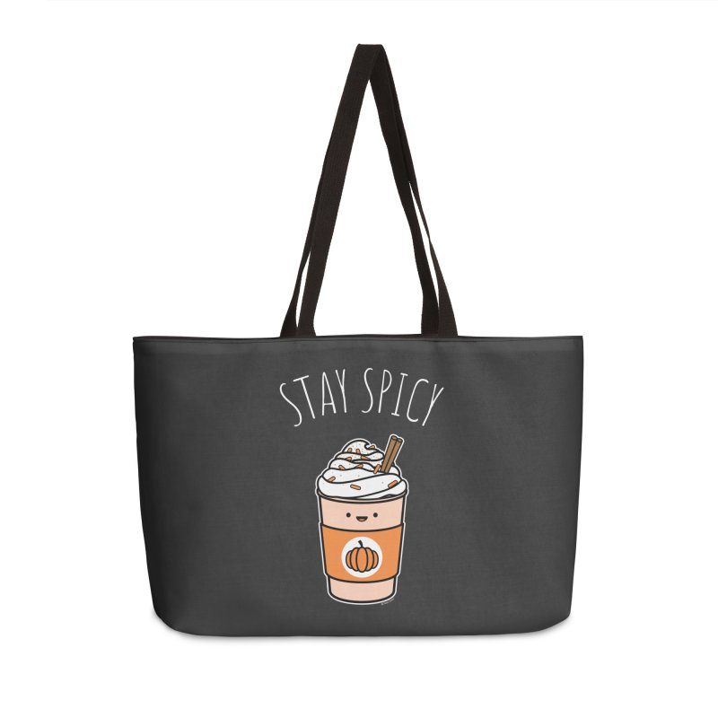 Stay Spicy Accessories Weekender Bag Bag by Toxic Onion