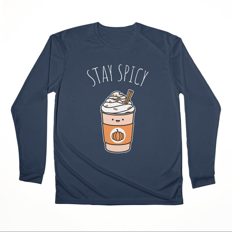 Stay Spicy Men's Performance Longsleeve T-Shirt by Toxic Onion