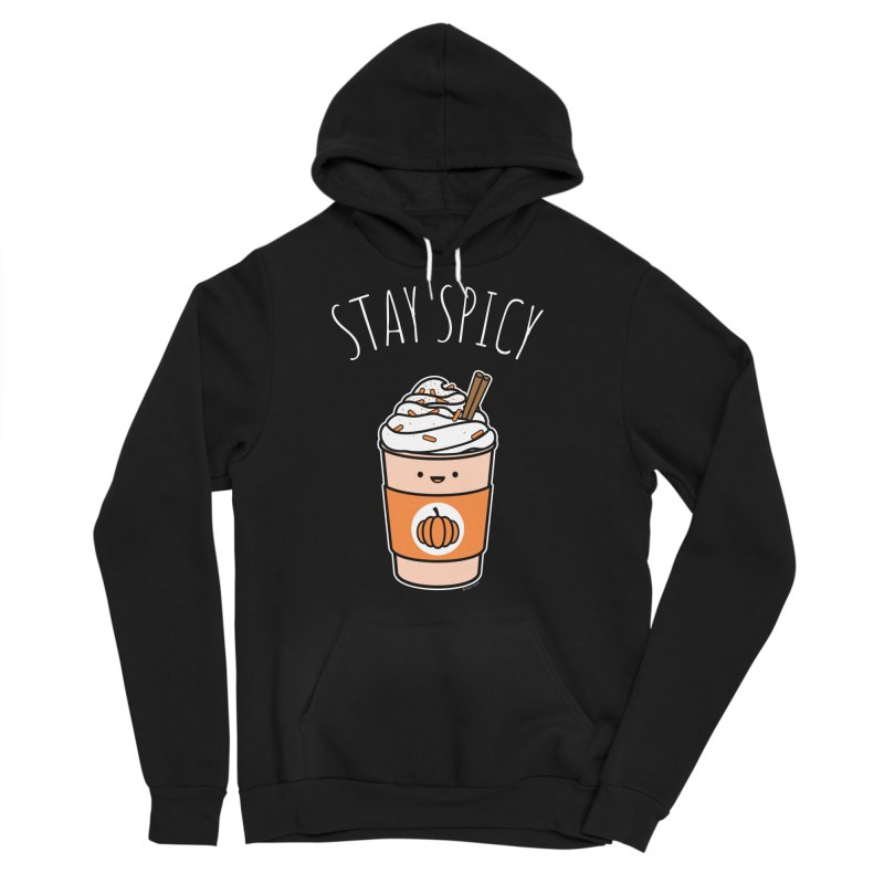 Stay Spicy Men's Sponge Fleece Pullover Hoody by Toxic Onion