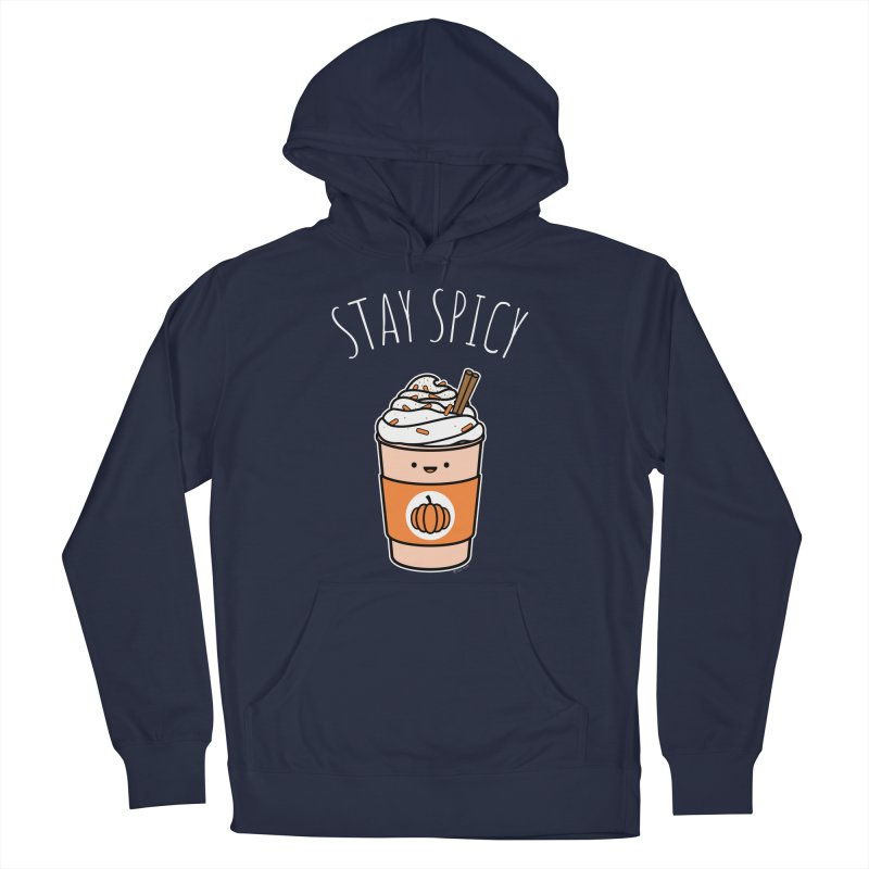 Stay Spicy Men's French Terry Pullover Hoody by Toxic Onion