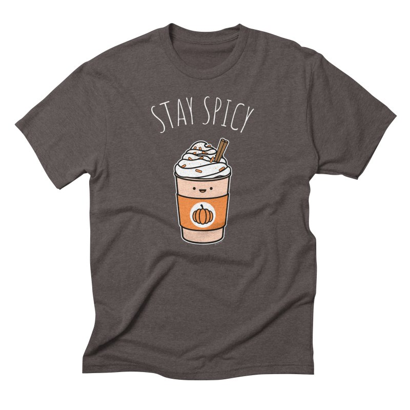 Stay Spicy Men's Triblend T-Shirt by Toxic Onion