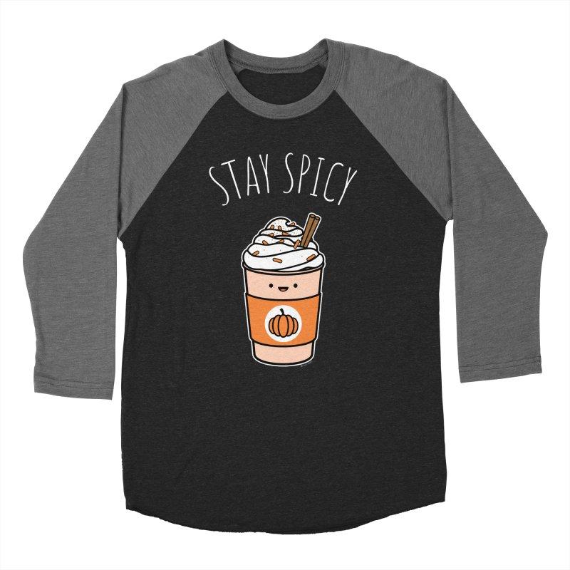 Stay Spicy Women's Baseball Triblend Longsleeve T-Shirt by Toxic Onion