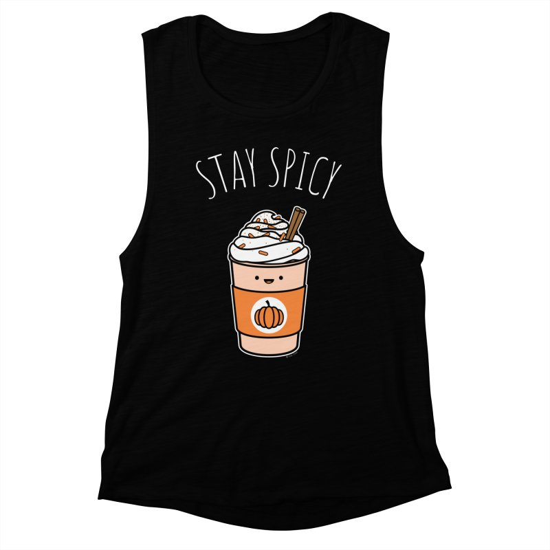 Stay Spicy Women's Muscle Tank by Toxic Onion