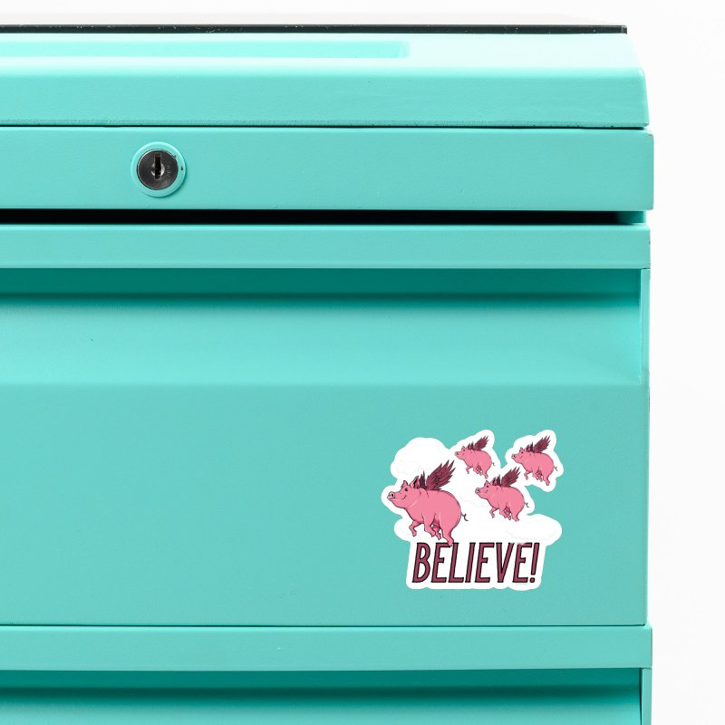 Believe Accessories Magnet by Toxic Onion