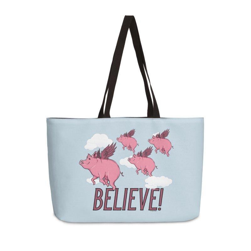 Believe Accessories Weekender Bag Bag by Toxic Onion