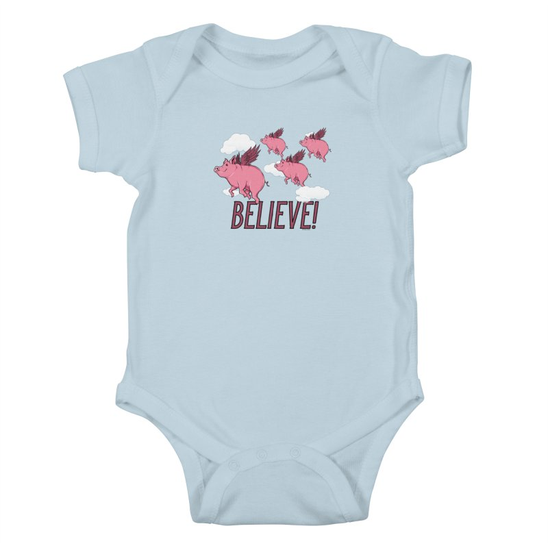 Believe Kids Baby Bodysuit by Toxic Onion