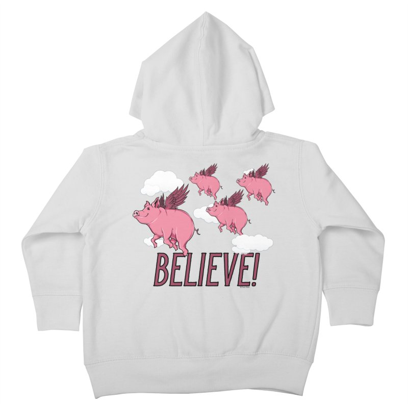 Believe Kids Toddler Zip-Up Hoody by Toxic Onion