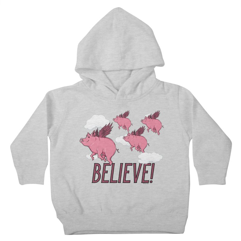 Believe Kids Toddler Pullover Hoody by Toxic Onion