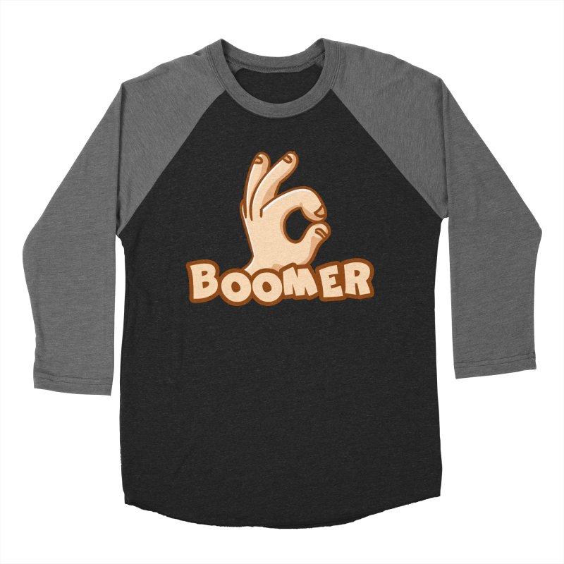 OK Boomer Men's Baseball Triblend Longsleeve T-Shirt by Toxic Onion