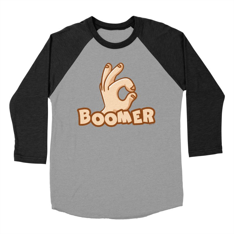 OK Boomer Men's Baseball Triblend Longsleeve T-Shirt by Toxic Onion