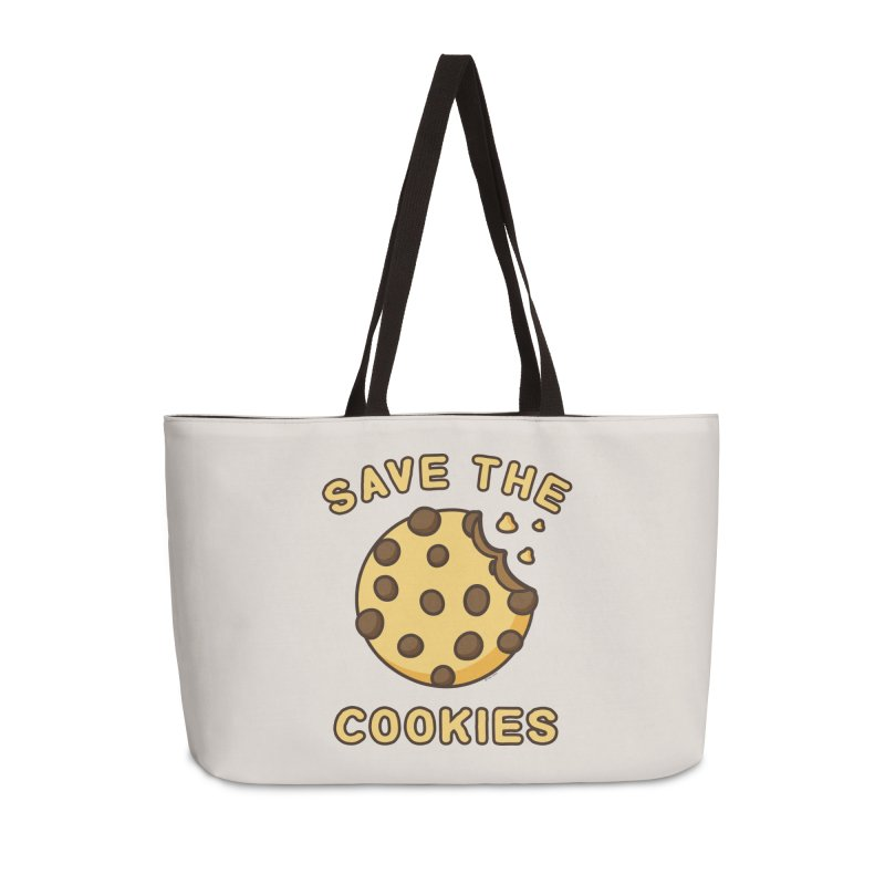 Save The Cookies Accessories Weekender Bag Bag by Toxic Onion