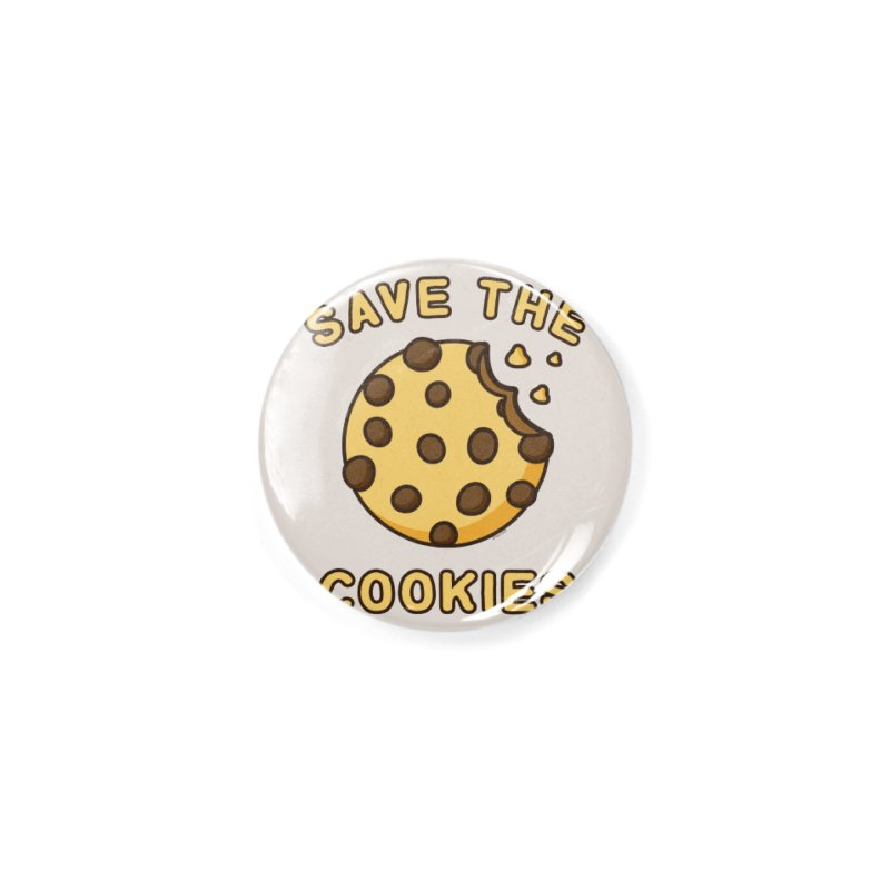 Save The Cookies Accessories Button by Toxic Onion