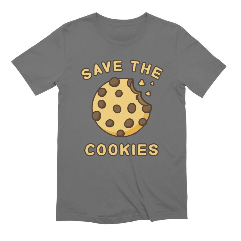 Save The Cookies Men's Extra Soft T-Shirt by Toxic Onion