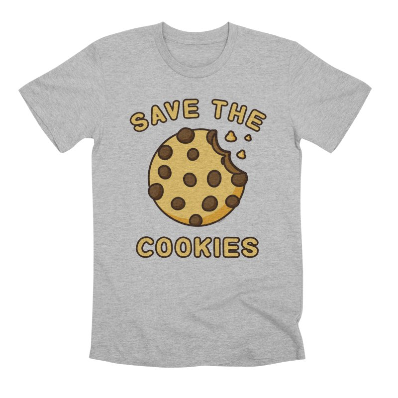 Save The Cookies Men's Premium T-Shirt by Toxic Onion