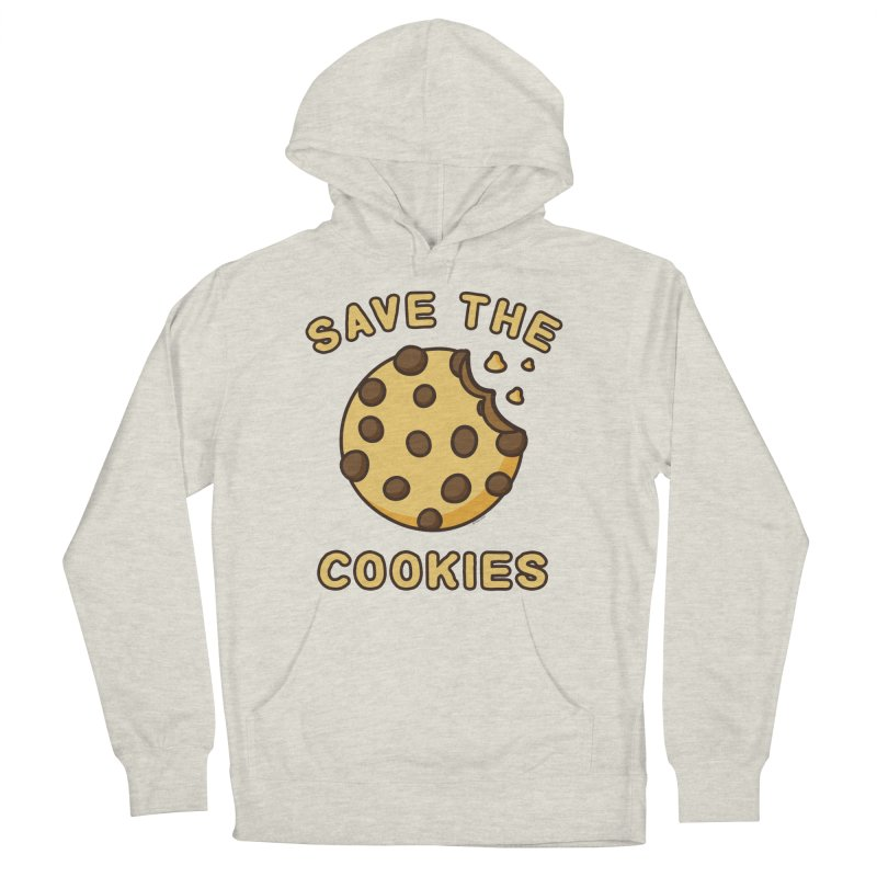 Save The Cookies Men's French Terry Pullover Hoody by Toxic Onion