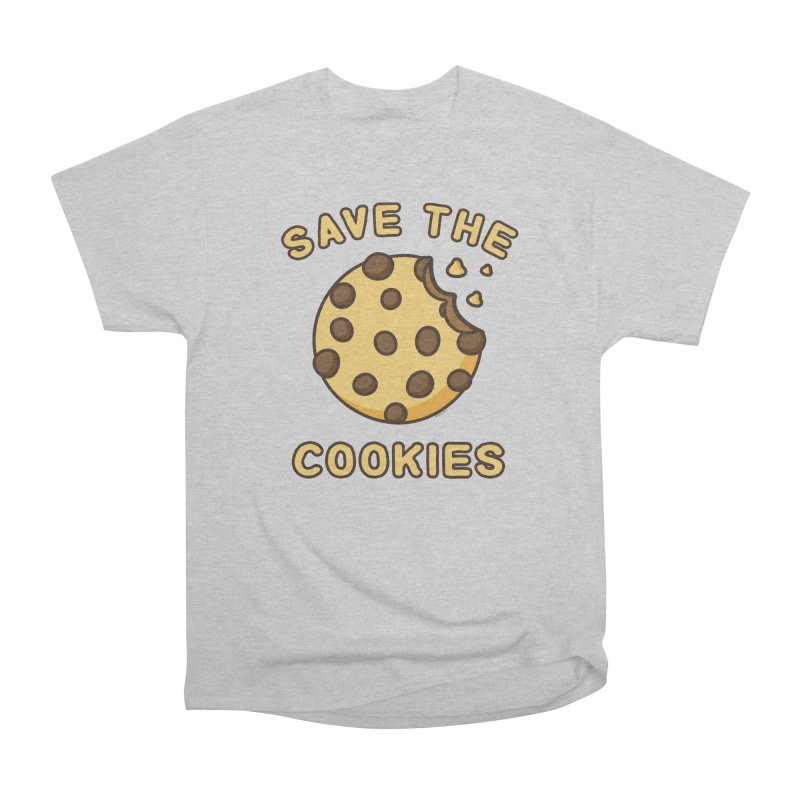 Save The Cookies Men's Heavyweight T-Shirt by Toxic Onion