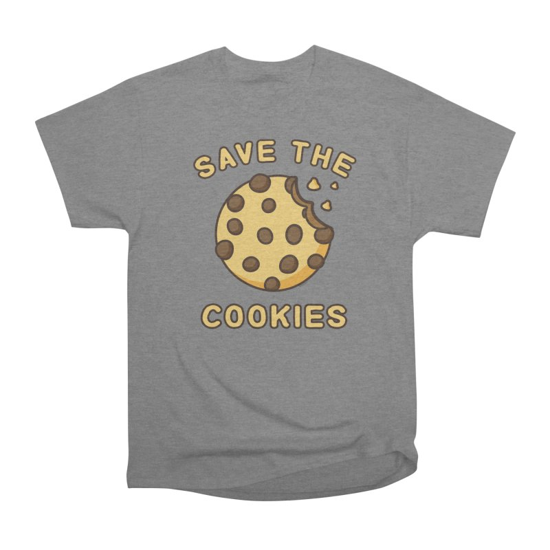 Save The Cookies Women's Heavyweight Unisex T-Shirt by Toxic Onion
