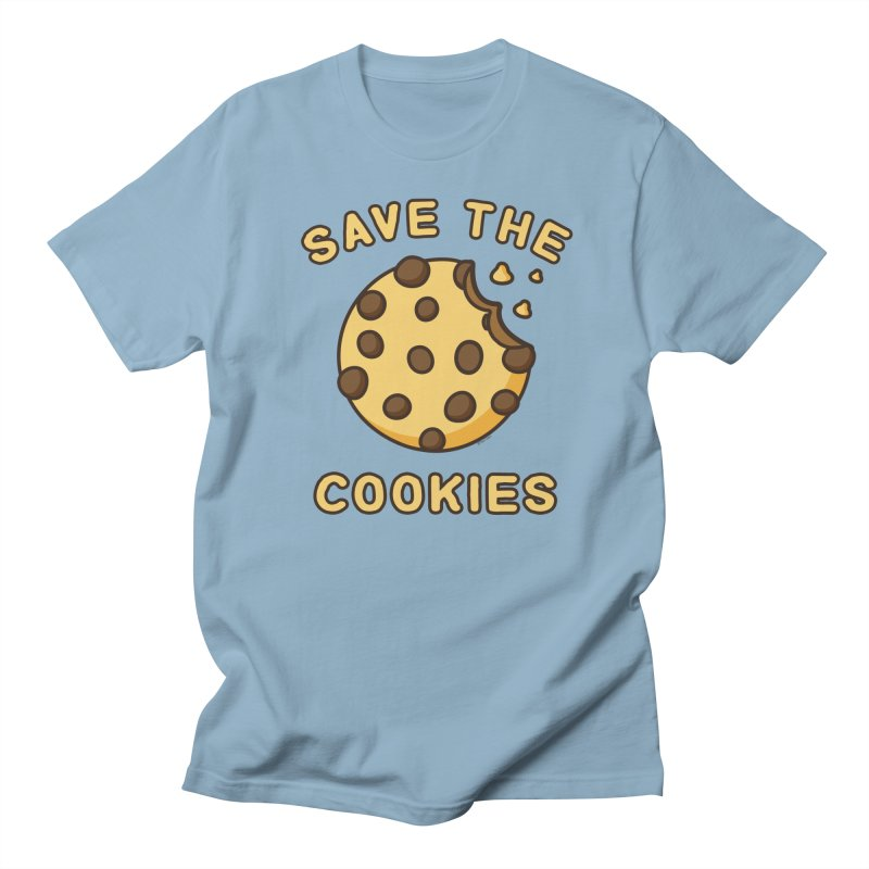 Save The Cookies Men's Regular T-Shirt by Toxic Onion