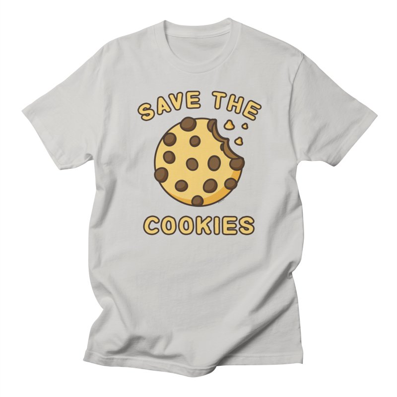 Save The Cookies Women's Regular Unisex T-Shirt by Toxic Onion