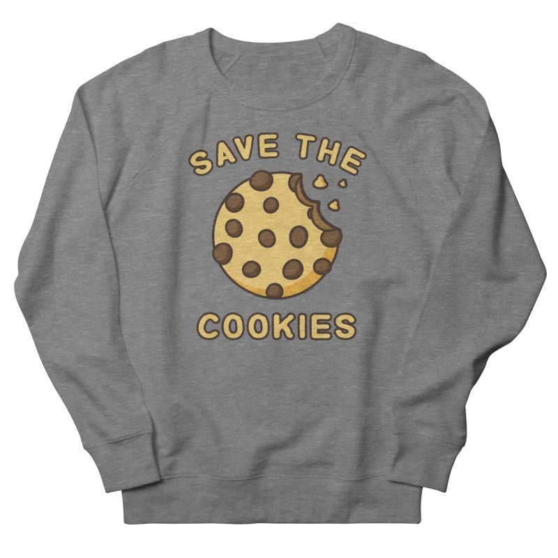 Save The Cookies Men's French Terry Sweatshirt by Toxic Onion