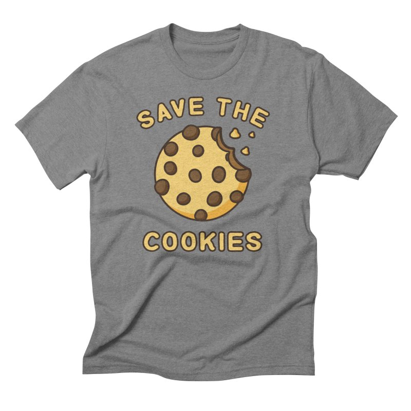 Save The Cookies Men's Triblend T-Shirt by Toxic Onion