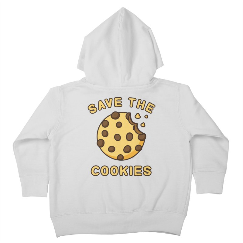 Save The Cookies Kids Toddler Zip-Up Hoody by Toxic Onion