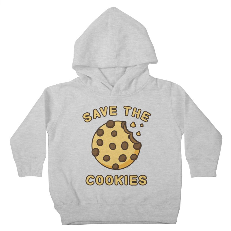 Save The Cookies Kids Toddler Pullover Hoody by Toxic Onion