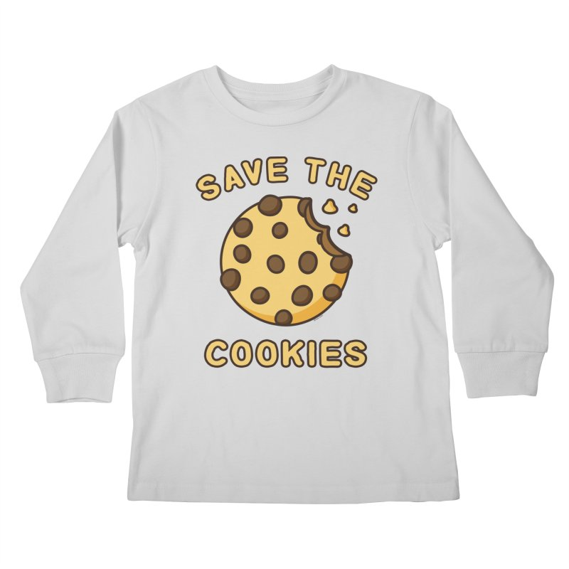 Save The Cookies Kids Longsleeve T-Shirt by Toxic Onion