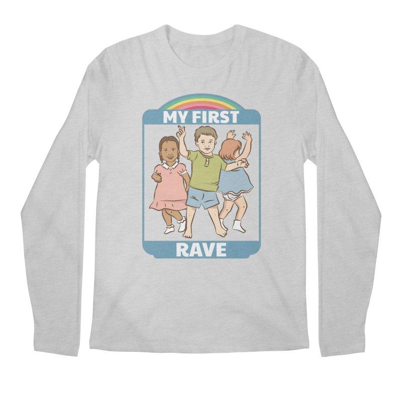 My First Rave Men's Regular Longsleeve T-Shirt by Toxic Onion