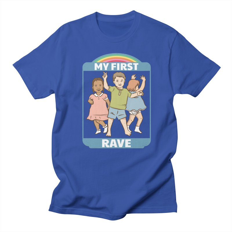 My First Rave Women's Regular Unisex T-Shirt by Toxic Onion