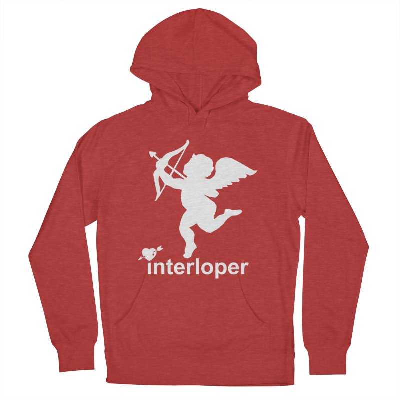 Interloper Men's French Terry Pullover Hoody by Toxic Onion